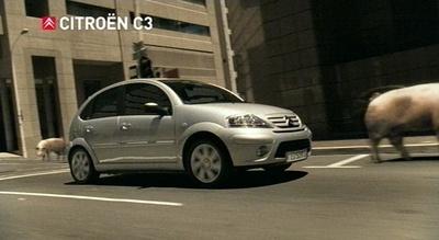 Citroën-Werbung: Nur, wer einen Citroën fährt, ist kein Schwein