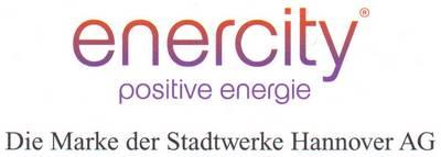 Enercity - positive energie - Die Marke der Stadtwerke Hannover AG