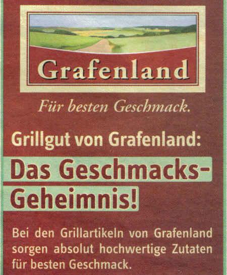 Grafenland - Für besten Geschmack - Grillgut von Grafenland: Das Geschmacks-Geheimnis! - Bei den Grillartikeln von Grafenland sorgen absolut hochwertige Zutaten für besten Geschmack.