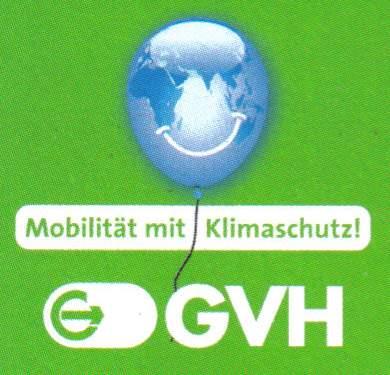 Das Bild muss man gesehen haben! Ein Luftballon mit den Kontinenten der Erde und einem Grinsen - Mobilität mit Klimaschutz! GVH