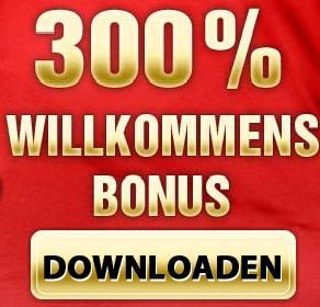 300% Willkommensbonus downloaden