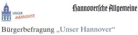 Hannoversche Allgemeine - Bürgerbefragung Unser Hannover