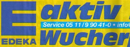 Edeka - aktiv - Wucher