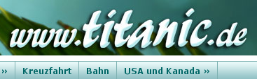www.titanic.de Kreuzfahrt Bahn USA und Kanada