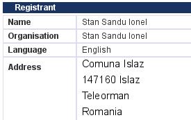 Stan Sandu Ionel, Comuna Islaz, 147160 Islaz, Teleorman, Romania