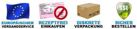 Europäischer Versandservice, Rezeptfrei einkaufen, Diskrete Verpackung, Sicher bestellen