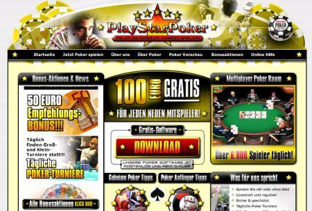 Der Pokerraum, in dem Roulettes herumstehen