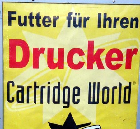 Futter für Ihren Drucker - Cartridge World