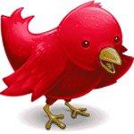 Das Twitter-Vögelchen sollte besser in einem höllischen Rot gehalten sein