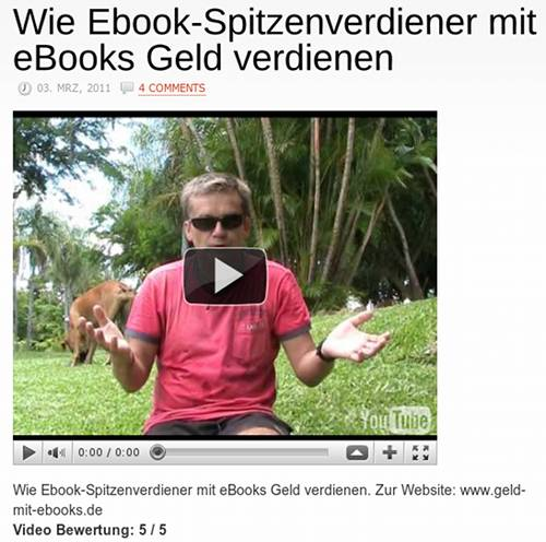 Wie Ebook-Spitzenverdiener mit eBooks Geld verdienen