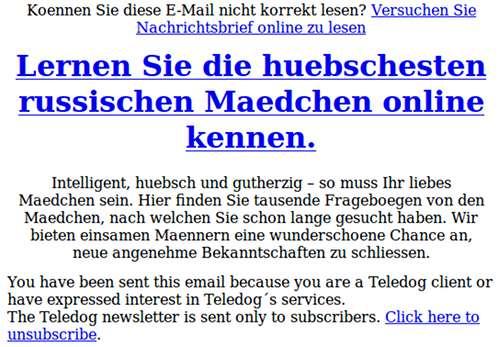 Email bekanntschaften