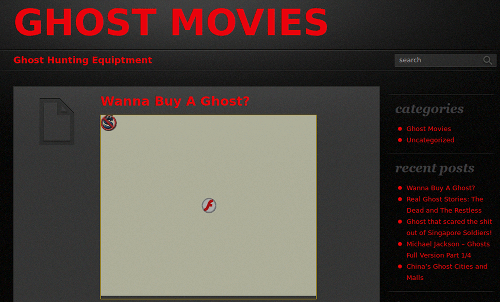 GHOST MOVIES -- Ghost Hunting Equiptment -- Wanna Buy A Ghost