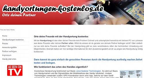 handyortungen-kostenlos.de - Orte deinen Partner