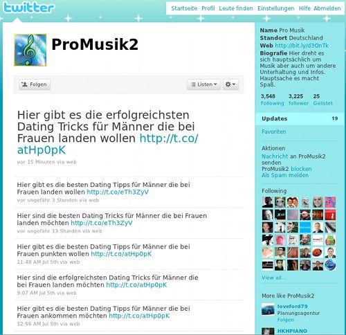 Screenshot von @ProMusik2: Dating Dating Dating Dating Dating Dating Dating Dating
