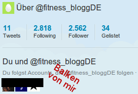 11 Tweets / 2818 Following / 2562 Follower / 34 Gelistet