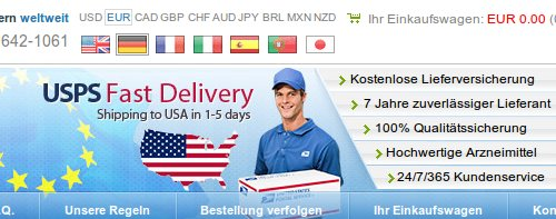 USPS Fast Delivery, Shipping to USA in 1-5 days