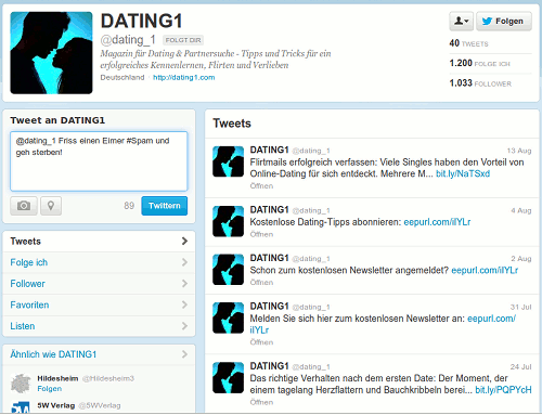 Screenshot des Twitter-Profiles von @dating_1