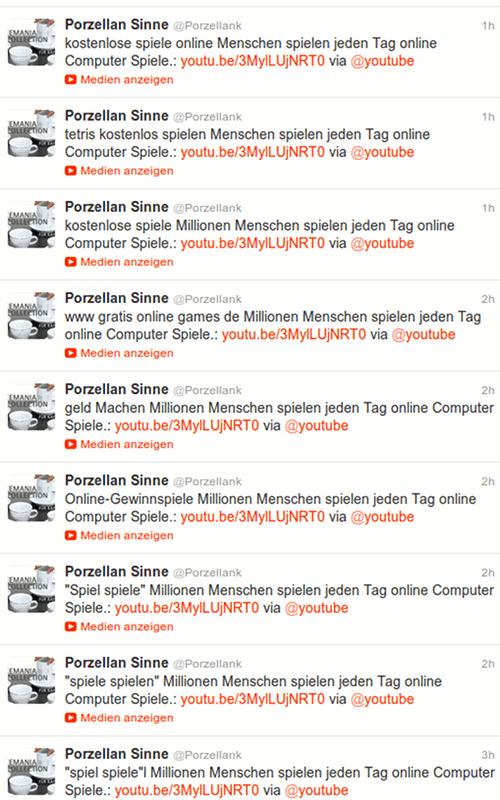 Screnshot der Timeline von @Porzellank