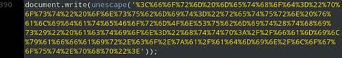 Ausschnitt aus dem Anhang der Spam mit verborgener Zieladresse für das HTML-Formular