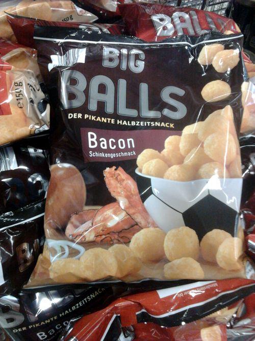 Big Balls -- Der pikante Halbzeitsnack -- Bacon / Schinkengeschmack