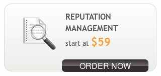 Reputation Management -- Start at $59 -- Order now
