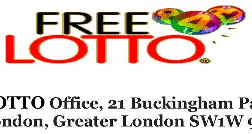 Detail aus dem PDF: Das Logo der angeblichen Lotterie