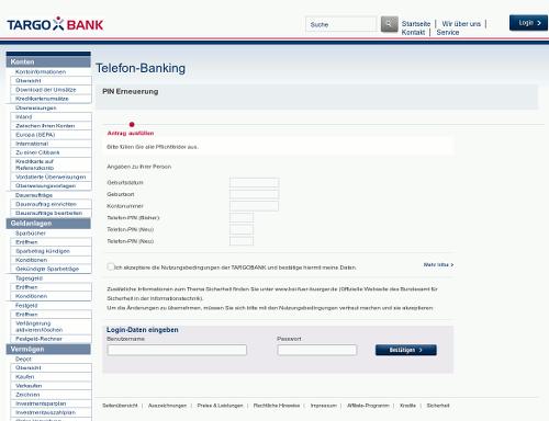 Screenshot der Darstellung des Anhangs der Targobank-Phishing-Mail in einem Webbrowser