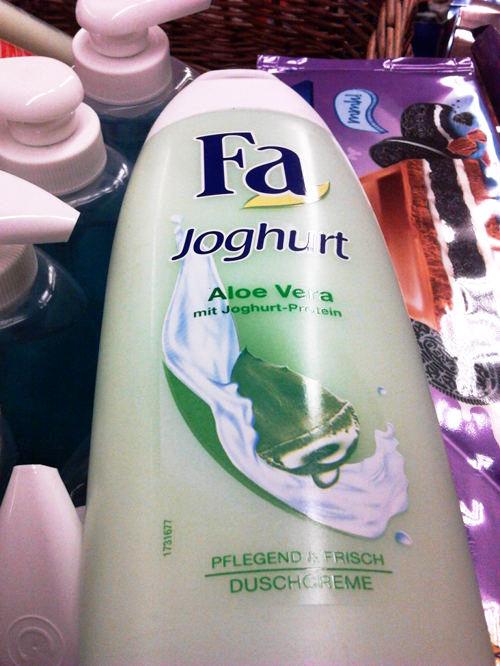 Fa -- Joghurt -- Aloe Vera mit Joghurt-Protein -- Pflegend frisch -- Duschcreme