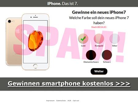 Screenshot... iPhone. Das ist 7. -- Gewinne ein neues iPhone7 -- Welche Farbe soll dein neues iPhone7 haben? -- Gewinnen smartphone kostenlos