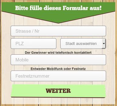Datenstriptease: Vollständige Anschrift, Handynummer, Festnetznummer