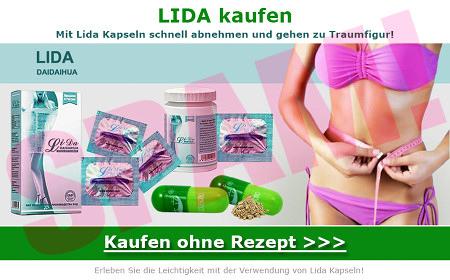 LIDA kaufen -- Mit Lida Kapseln schnell abnehmen und gehen zu Traumfigur! -- LIDA DAIDAIHUA -- Kaufen ohne Rezept