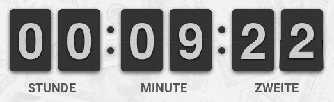Stunde Minute Zweite