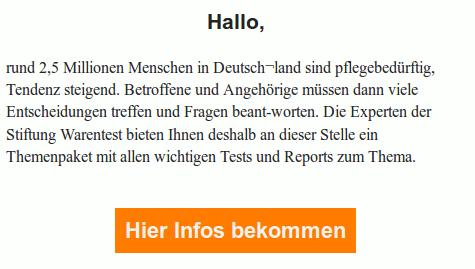 Screenshot der HTML-Darstellung dieser Spam im Mozilla Thunderbird unter Ubuntu 16.04.2 LTS.