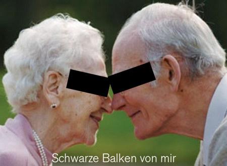 Foto zweier alter Menschen
