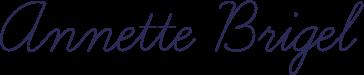 Anette Briegel in einer Unterschrift, die mit einem Handschriftfont simuliert wurde