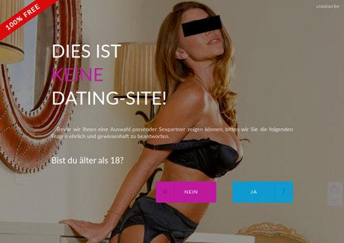 100% FREE -- DIES IST KEINE DATING-SITE! -- Bevor wir Ihnen eine Auswahl passender Sexpartner zeigen können, bitten wir Sie die folgenden Fragen ehrlich und gewissenhaft zu beantworten