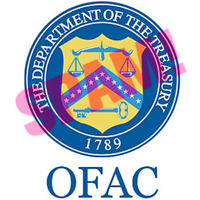 Logo des US-Finanzministeriums, Abt.: Office of Foreign Asset Control