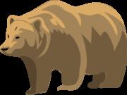 Clipart eines Bären