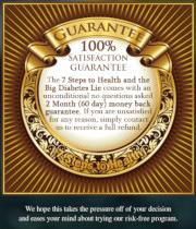 Detail aus der verlinkten Webseite mit der 100prozentigen Garantie