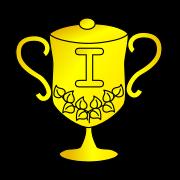 Bild eines Pokales für den ersten Platz