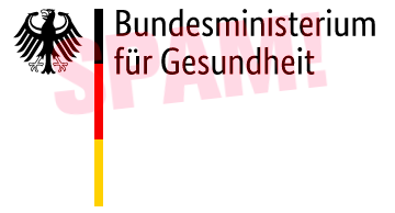 Logo des Bundesminsteriums für Gesundheit