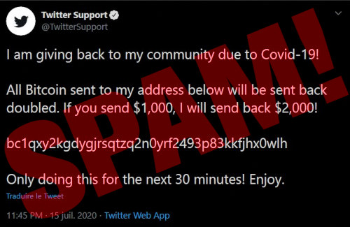 -- I am giving back my community due to Covid-19! All Bitcoin sent to my address below will be send back doubled. If you send $1000, I will send back $2000! -- Bitcoin-Adresse -- Only doing this for the next 30 Minutes! Enjoy!