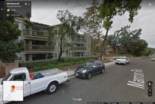 Das 'Firmengebäude' in Google Street View