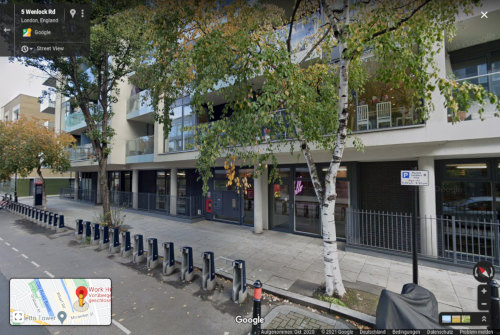 Screenshot aus Google Street View